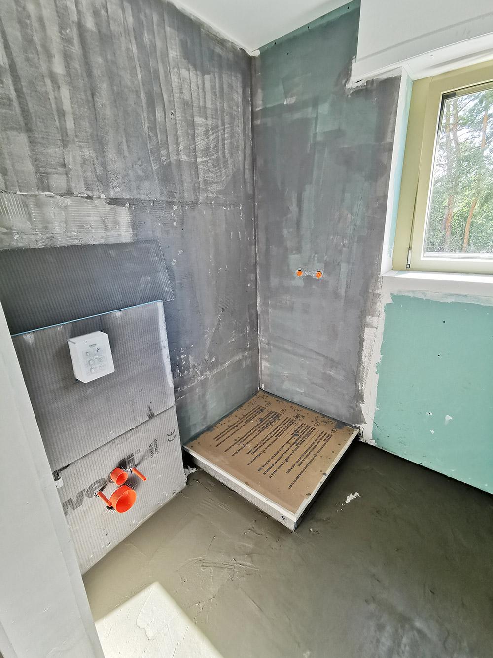 Création d'une salle de bain - avant