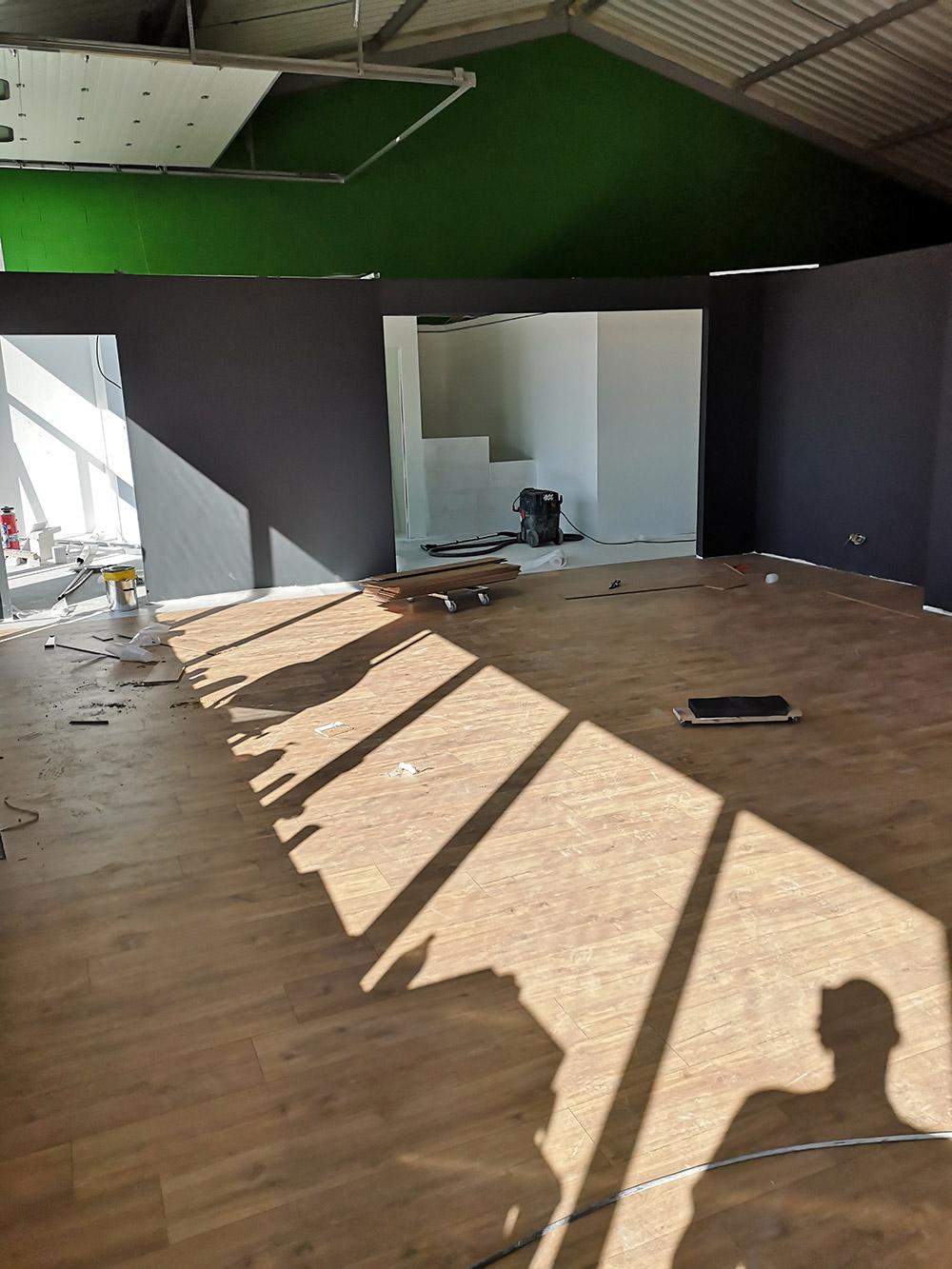 Rénovation intérieure - salle de sport